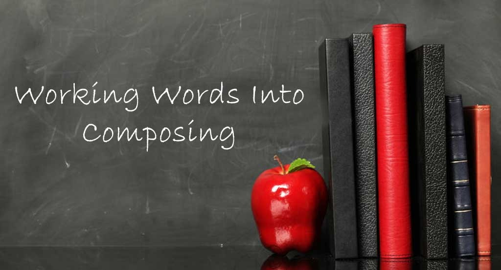 Working words into composing