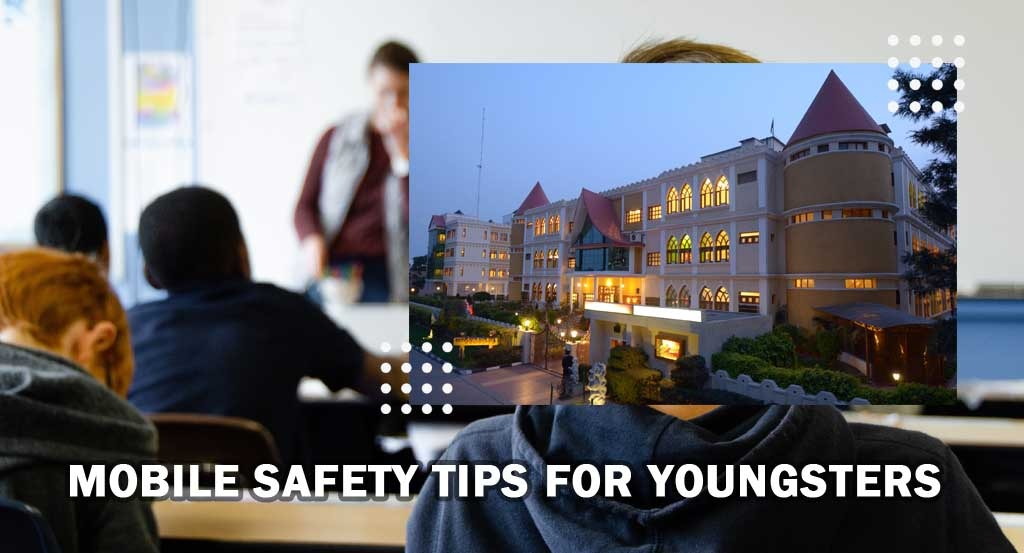 Mobile safety tips for youngsters - Gurukul school